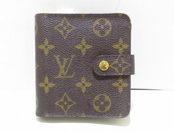 LOUIS VUITTON(ルイヴィトン) 2つ折り財布 モノグラム コンパクト・ジップ M61667