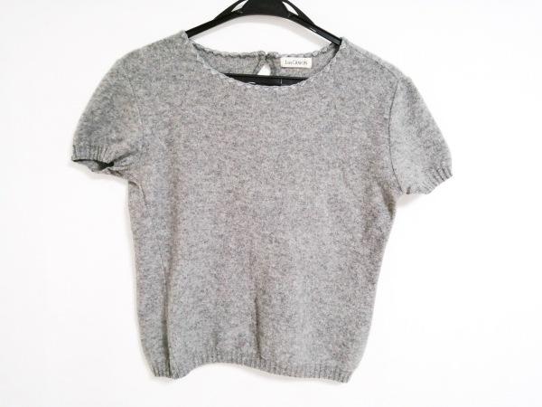 Lois CRAYON(ロイスクレヨン) 半袖セーター サイズM レディース美品  グレー