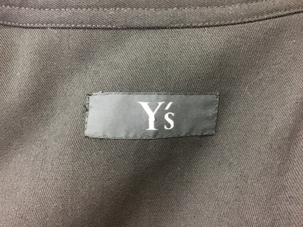 Y's(ワイズ) コート レディース 黒 春・秋物/マキシ丈