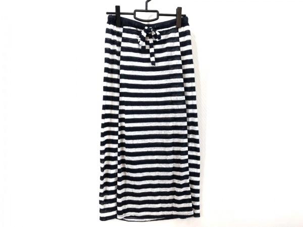ロンハーマン ロングスカート サイズXS レディース美品  - - ネイビー×白