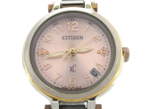 CITIZEN(シチズン) 腕時計 XC H054-T018246 レディース ベージュ