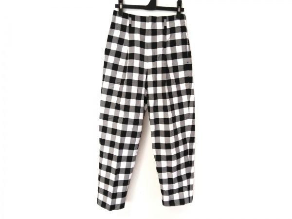 DRESSTERIOR(ドレステリア) パンツ サイズ36 S レディース 白×黒 チェック柄