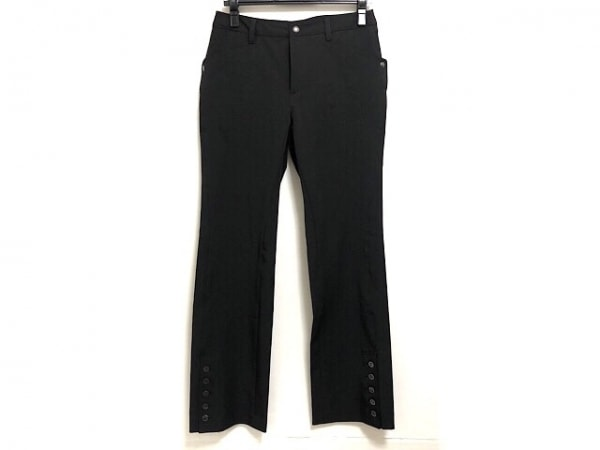 HIROKO KOSHINO(ヒロココシノ) パンツ サイズ40 M レディース美品  黒 TRUNK