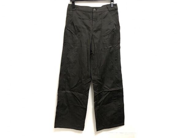 HIROKO KOSHINO(ヒロココシノ) パンツ サイズ38 M レディース ダークカーキ TRUNK