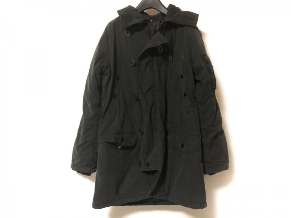 MHL.(マーガレットハウエル) コート サイズ3 L レディース 黒 冬物