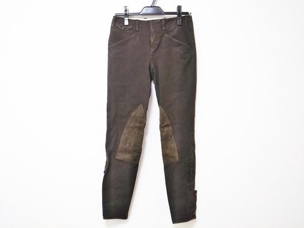 RalphLauren(ラルフローレン) パンツ サイズ0 XS レディース美品  ダークブラウン