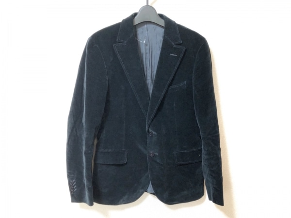 Z Zegna(ジーゼニア) ジャケット サイズ46C メンズ美品  黒