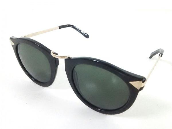 カレンウォーカー サングラス HARVEST 1101406 黒×ゴールド プラスチック×金属素材