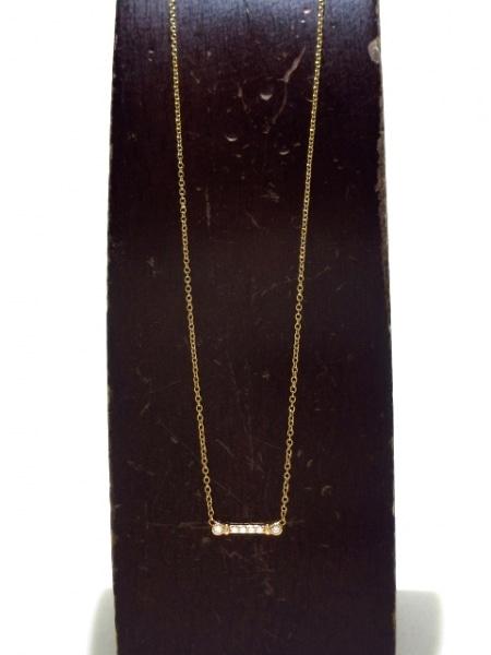 ティファニー ネックレス美品  - K18PG×ダイヤモンド 6Pダイヤ 2
