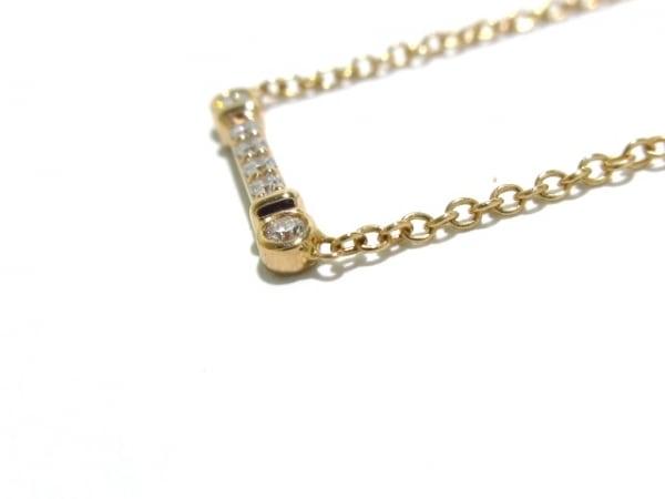 ティファニー ネックレス美品  - K18PG×ダイヤモンド 6Pダイヤ 8