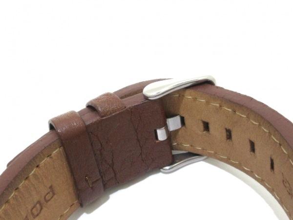 POLICE(ポリス) 腕時計美品  15239J メンズ ダークグレー