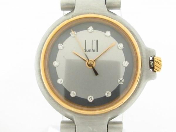 ダンヒル 腕時計美品  ミレニアム - レディース シルバー×グレー