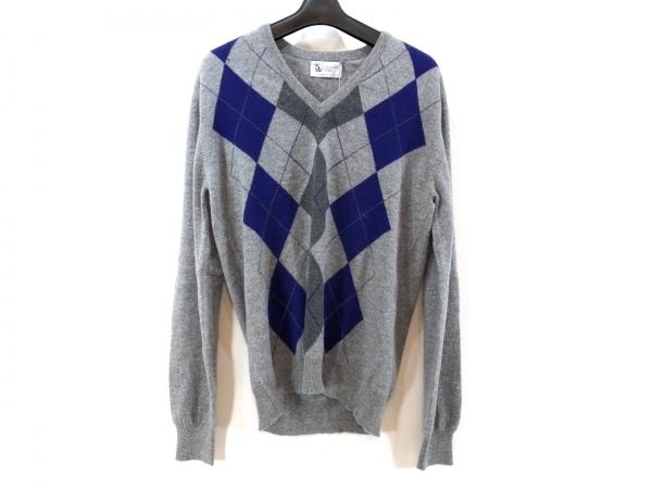 ジョンストンズ 長袖セーター サイズ38 M メンズ美品  アーガイル柄