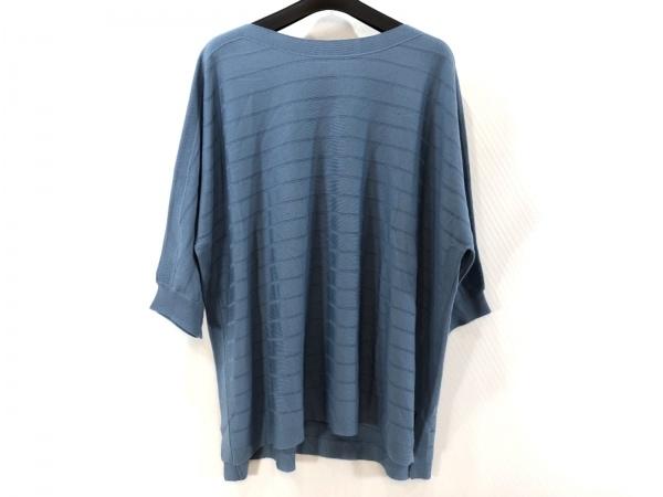 AMACA(アマカ) セーター サイズ46 XL レディース美品  ライトブルー