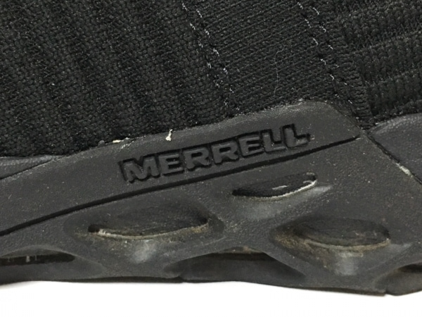 MERRELL(メレル) スニーカー 23.5 レディース 黒 ナイロン