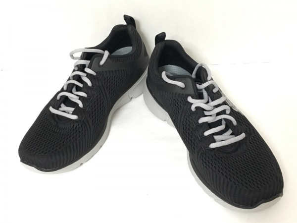 SKECHERS(スケッチャーズ) スニーカー 26.5 メンズ美品  黒 ナイロン