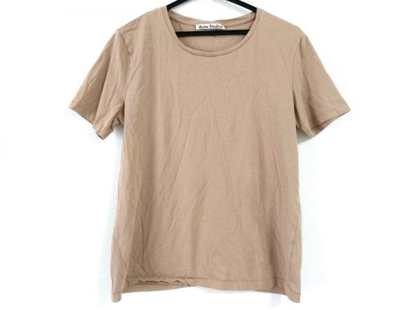 ACNE STUDIOS(アクネ ストゥディオズ) 半袖Tシャツ サイズS レディース ベージュ