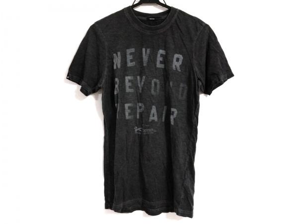 DENHAM(デンハム) 半袖Tシャツ サイズEU XS メンズ ダークグレー×グレー