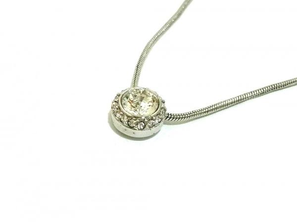 SWAROVSKI(スワロフスキー) ネックレス美品  金属素材×スワロフスキークリスタル