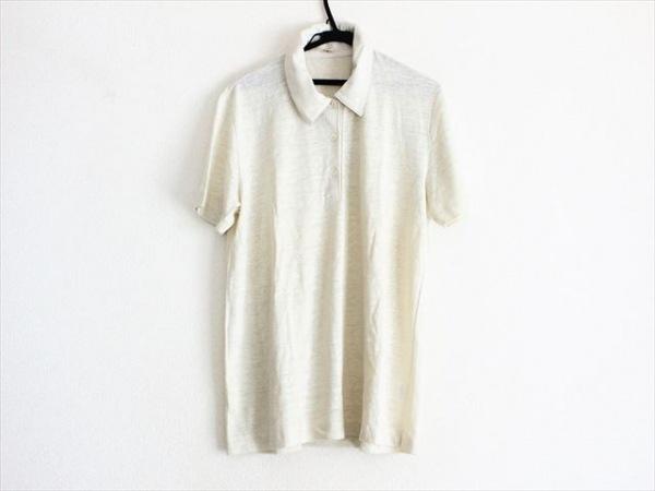 MALO(マーロ) 半袖ポロシャツ レディース美品  アイボリー