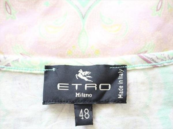 ETRO(エトロ) 半袖カットソー サイズ48 XL レディース美品