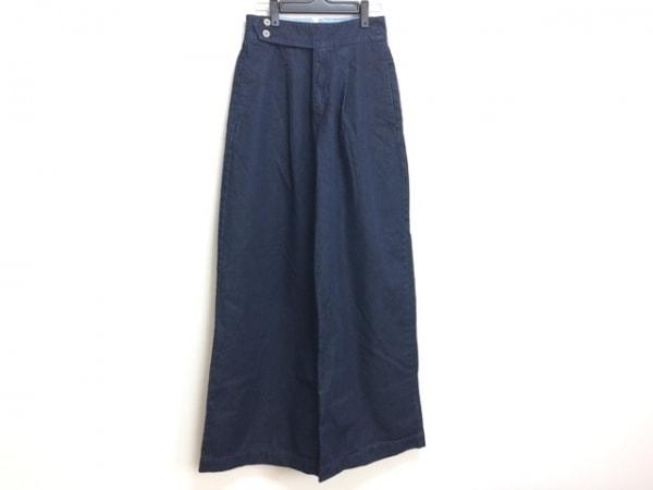 ダブルスタンダードクロージング パンツ サイズ38 M レディース ダークネイビー