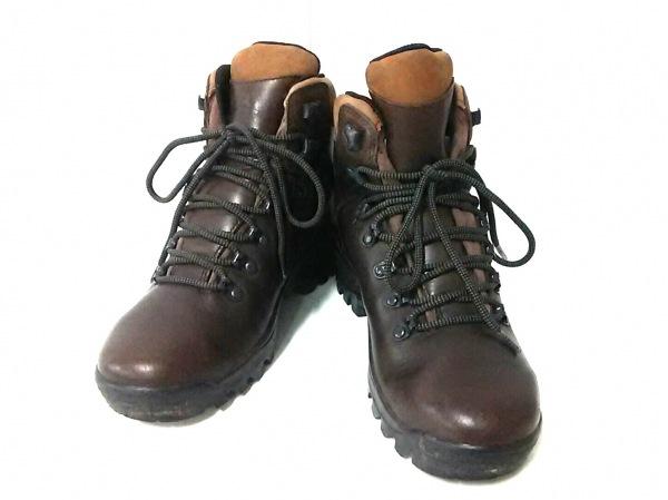 MERRELL(メレル) ショートブーツ US 6.5 メンズ美品  ダークブラウン レザー