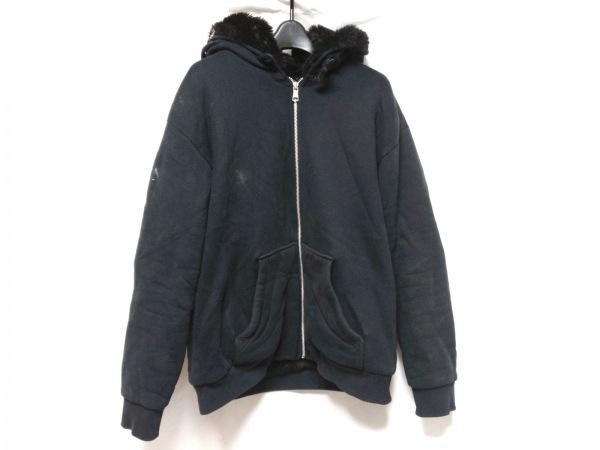 ARMANIEX(アルマーニエクスチェンジ) ジャケット サイズL メンズ ダークネイビー 冬物