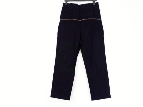 LIMI feu(リミフゥ) パンツ サイズXS レディース美品  黒 ジップデザイン