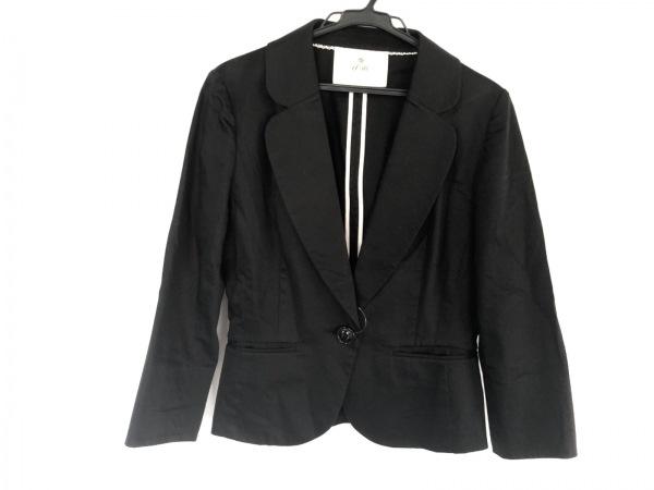 ef-de(エフデ) ジャケット サイズ9 M レディース 黒