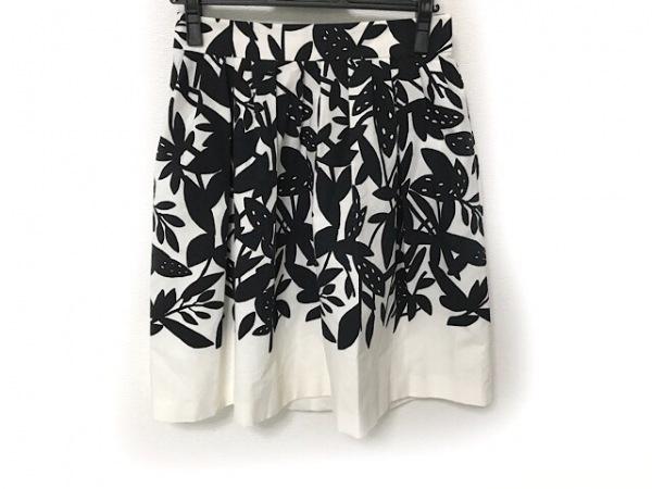 PAULEKA(ポールカ) スカート サイズ38 M レディース美品  白×黒