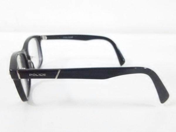 POLICE(ポリス) メガネ V1993J クリア×黒 度入り プラスチック