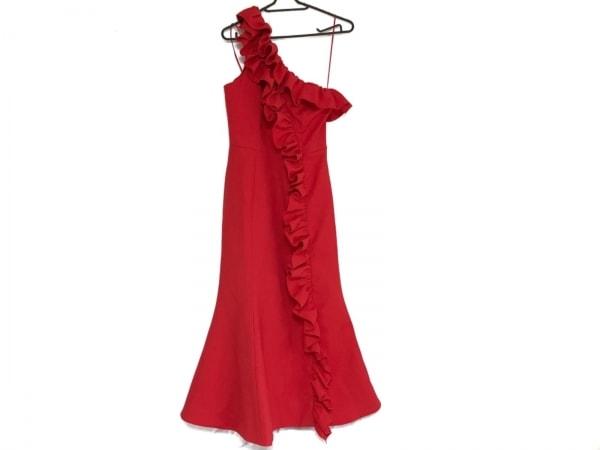 カメオコレクティブ ドレス サイズXXS XS レディース レッド フリル