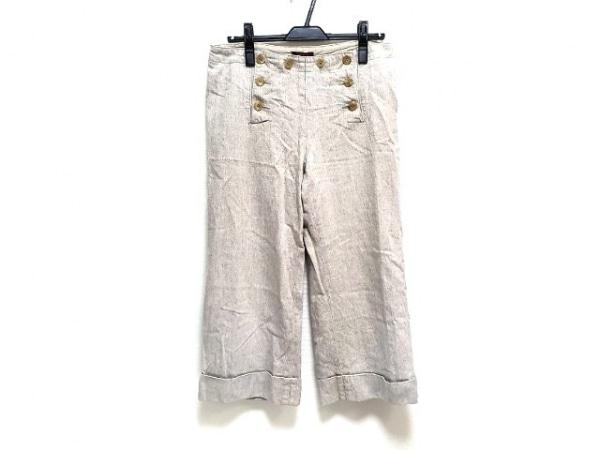 AMACA(アマカ) パンツ サイズ40 M レディース美品  ベージュ