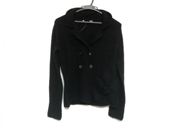 JILSANDER(ジルサンダー) ジャケット サイズ36 S レディース美品  黒 ニット