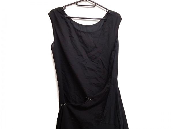ワイズレッドレーベル ワンピース サイズ2 M レディース美品  黒 変形デザイン