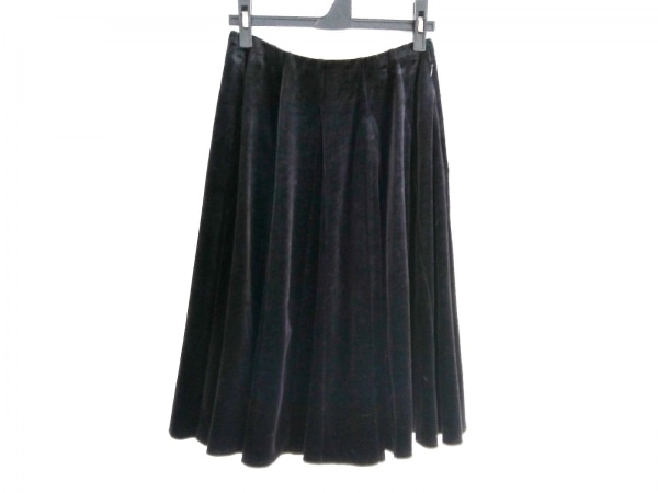 FOXEY NEW YORK(フォクシーニューヨーク) スカート レディース 19276 黒 ベロア
