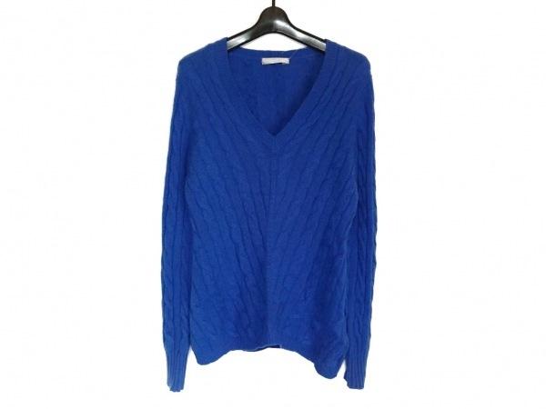 DAMAcollection(ダーマコレクション) 長袖セーター サイズ3L レディース美品  ブルー