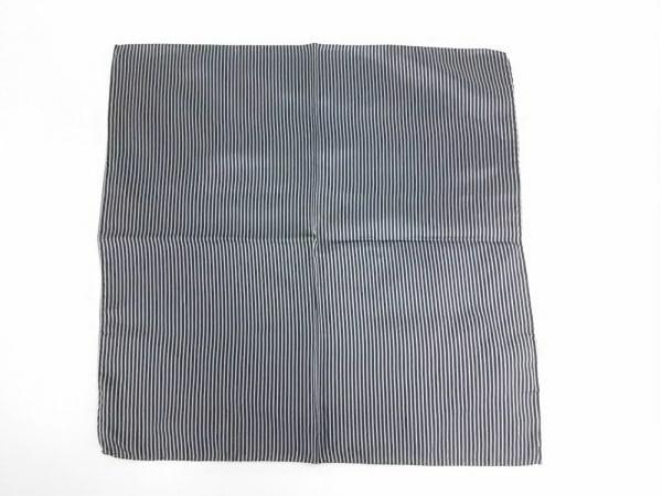 EMPORIOARMANI(エンポリオアルマーニ) ハンカチ新品同様  黒×ライトグレー