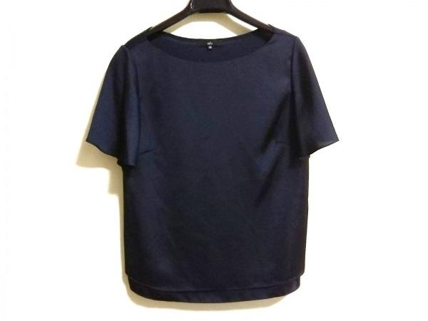 wb(ダブリュービー) 半袖カットソー サイズ38 M レディース ダークネイビー