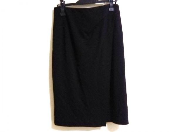 wb(ダブリュービー) スカート サイズ38 M レディース 黒 BUSINESS TRIP