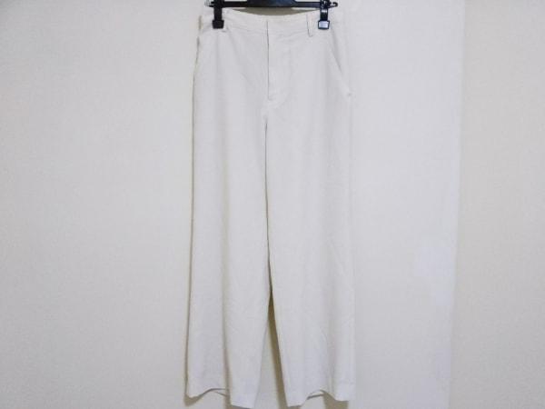 wb(ダブリュービー) パンツ サイズ38 M レディース アイボリー