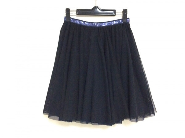 muller of yoshiokubo(ミュラーオブヨシオクボ) スカート サイズ36 S レディース 黒