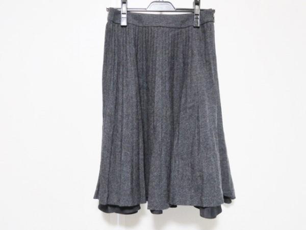 TO BE CHIC(トゥービーシック) スカート サイズ38 M レディース ダークグレー