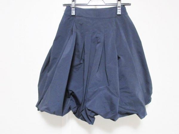 TO BE CHIC(トゥービーシック) スカート サイズ36 S レディース ダークネイビー