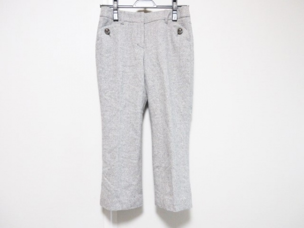 TO BE CHIC(トゥービーシック) パンツ サイズ36 S レディース グレー