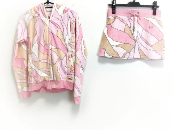 Rady(レディ) スカートセットアップ サイズF レディース ピンク×白×マルチ
