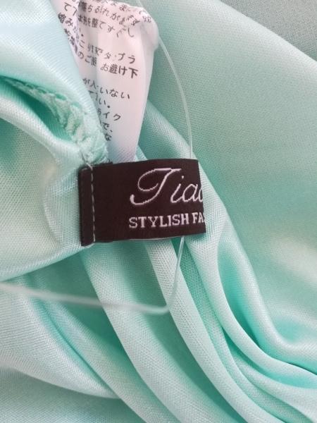 Tiaclasse(ティアクラッセ) チュニック サイズM レディース美品  ライトグリーン