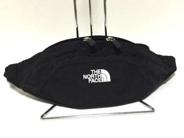 THE NORTH FACE(ノースフェイス) ウエストポーチ新品同様  NM71802 黒 ナイロン