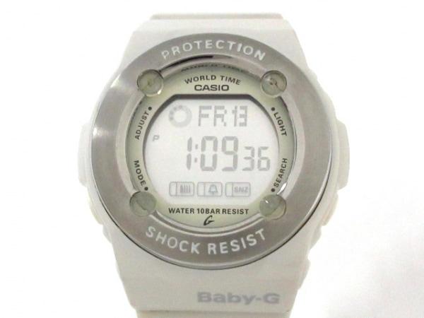 CASIO(カシオ) 腕時計美品  Baby-G BG-1300 レディース ラバーベルト グレー